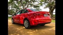Garagem CARPLACE#4: A3 Sedan 1.4 - dinâmica e medições de desempenho