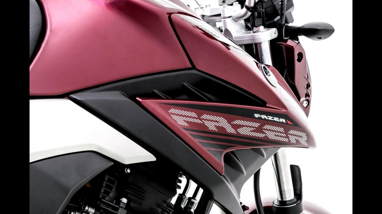 Nova Yamaha Fazer 250 chega em agosto por R$ 13.620