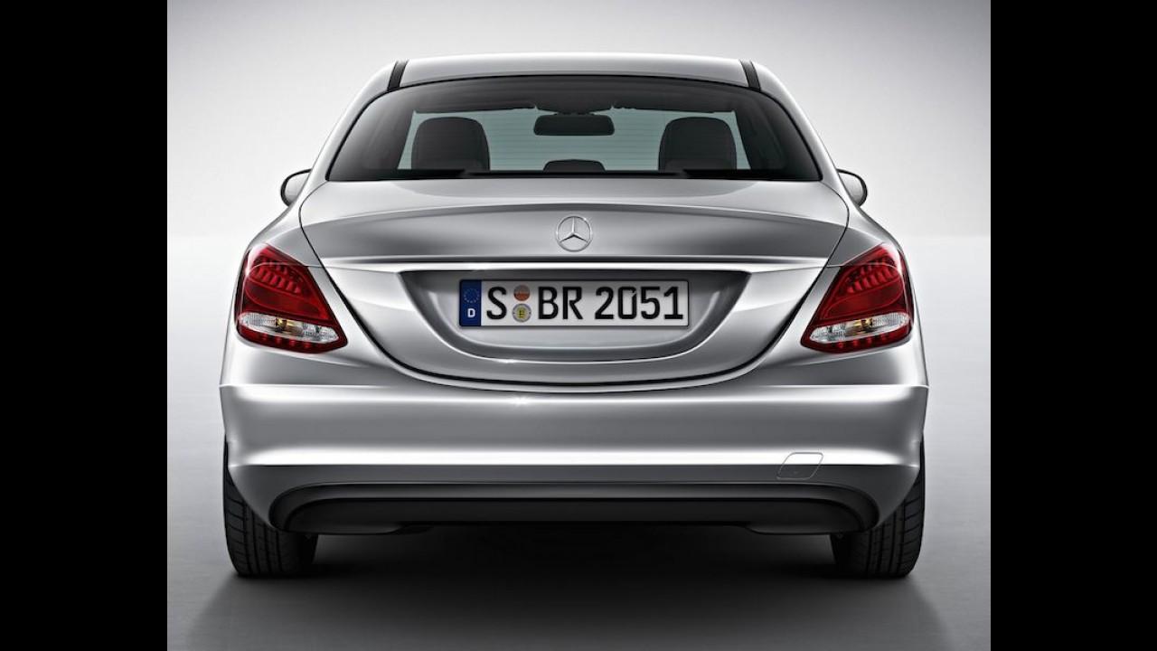 Mercedes Classe C ganha versão mais barata no Brasil por R$ 119,9 mil