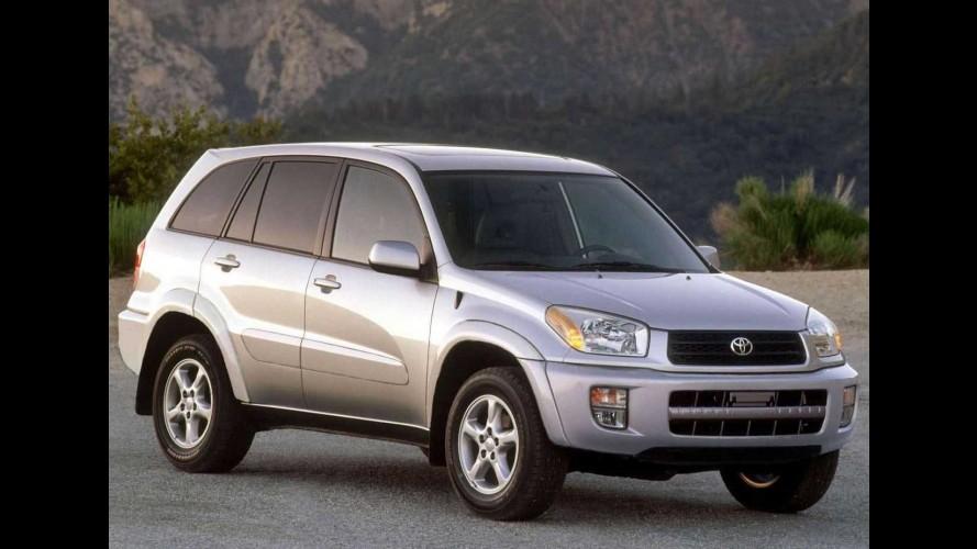 Toyota chama Hilux, SW4 e RAV4 para recall no Brasil por falha no airbag