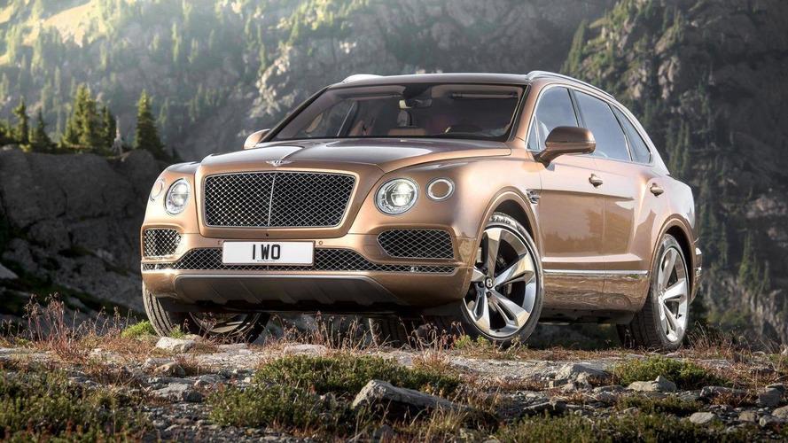 Un V8 essence pour le Bentley Bentayga ?