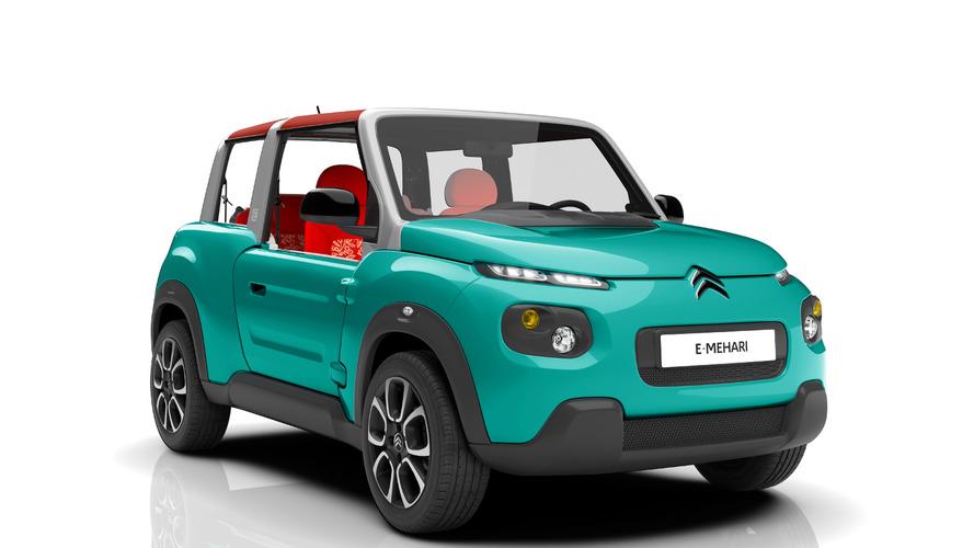 Citroen E-MEHARI unveiled, goes on sale next spring