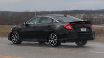 Honda Civic Si Sedan Spy Photos