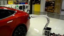 Tesla'nın yılana benzeyen şarj aleti prototipi