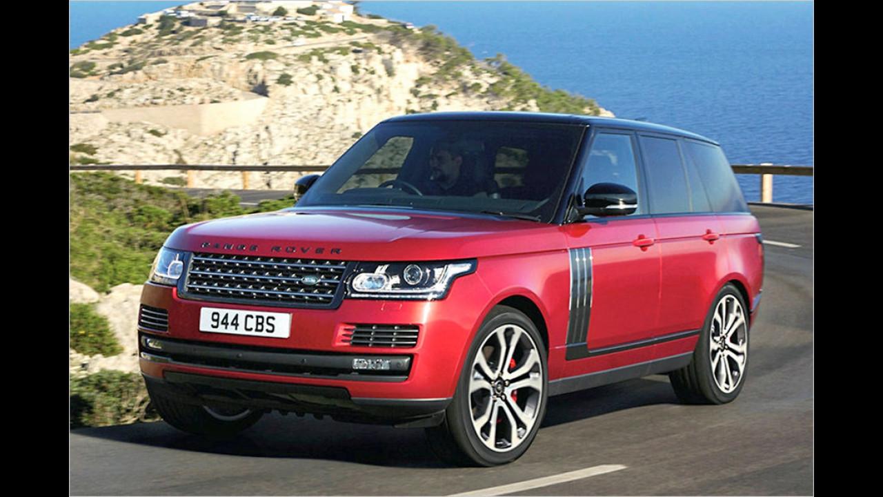 Land Rover: 92 Prozent