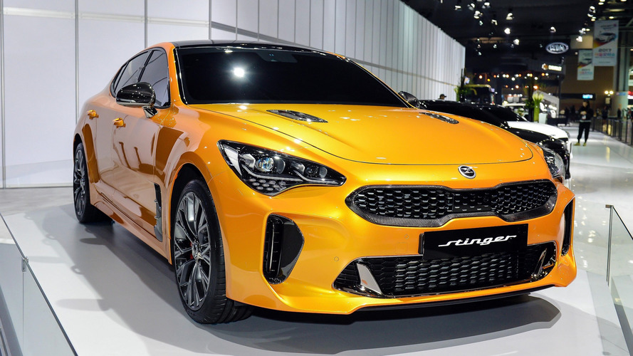 2018 Kia Stinger Does 0-100 KM/H In 4.9 Seconds