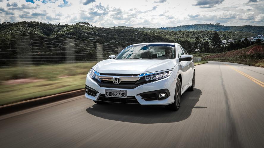 Honda Civic Touring aumenta de preço pela primeira vez, junto com City e Fit