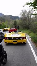 Ferrari F40 GT feu