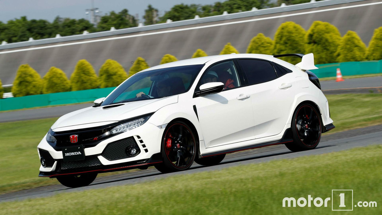 Honda Civic Type R (2017) - test drive