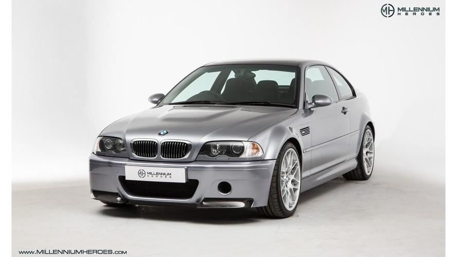 Nadir bulunan BMW M3 CSL'in fiyatı 45,000 £