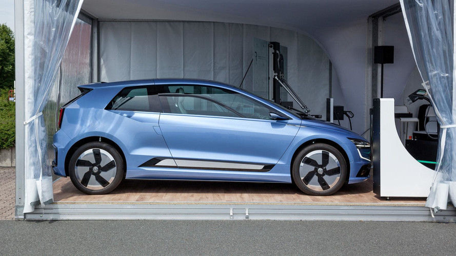 Next-Gen VW Golf Previewed Via Gen.E Research Vehicle?