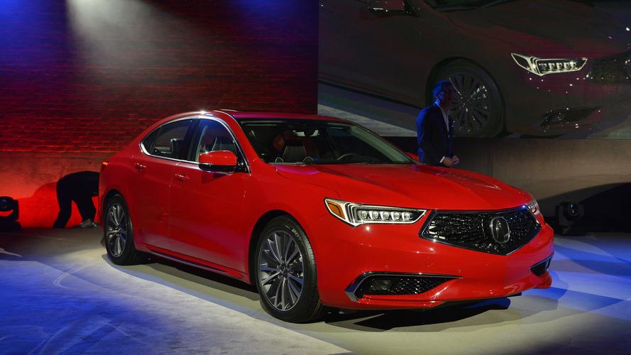 2018 Acura TLX'e agresif bir görünüm