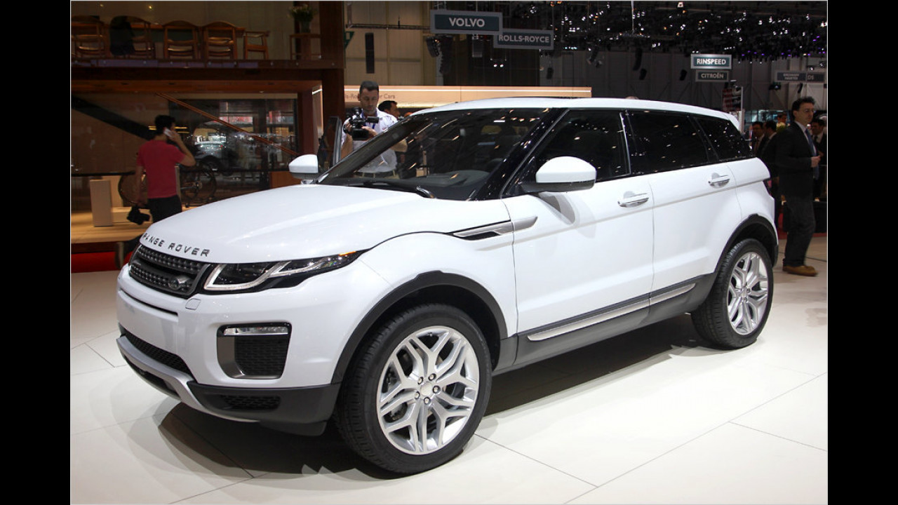 Land Rover Range Rover Evoque Facelift