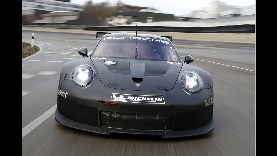 Nachfolger des 911 RSR nimmt Testbetrieb auf