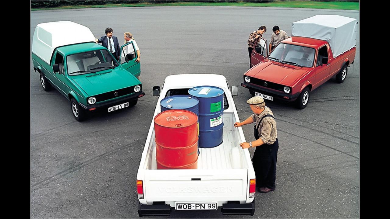 30 Jahre VW Caddy