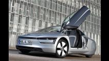 Ausfahrt mit dem VW XL1