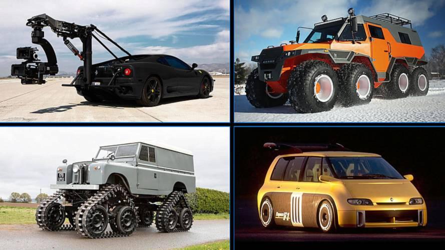 10 coches que son una auténtica exageración