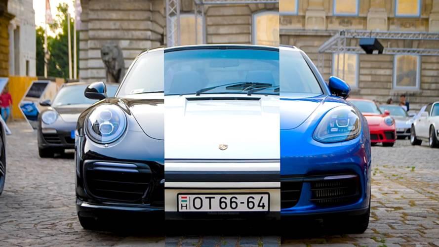 A budai Várban ünnepelte 70. évfordulóját a Porsche