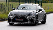 Lexus RC F 2018 fotos espía