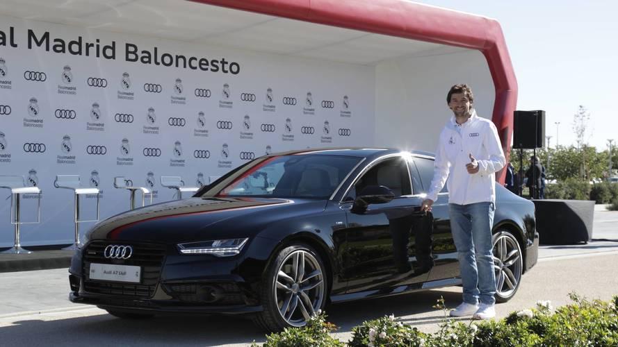 Audi entrega sus coches a la plantilla del Real Madrid Baloncesto
