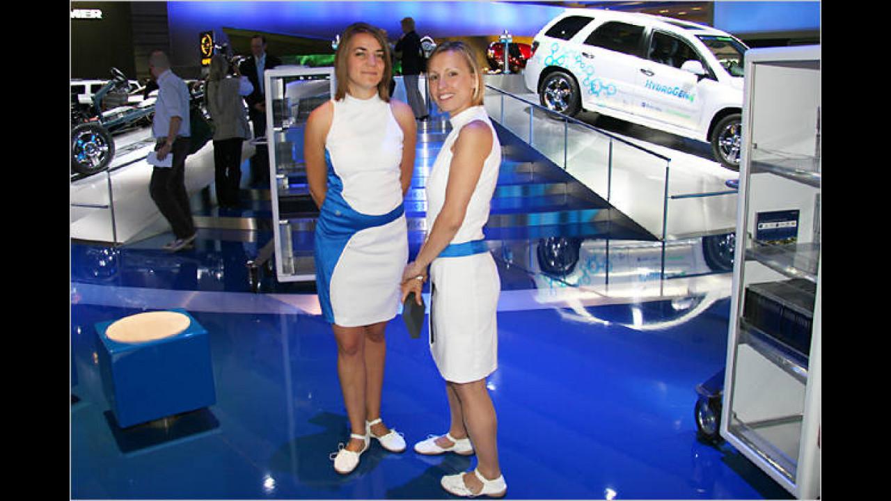Der Wasserstoff zum Blondieren wird jetzt von den Autos verbraucht