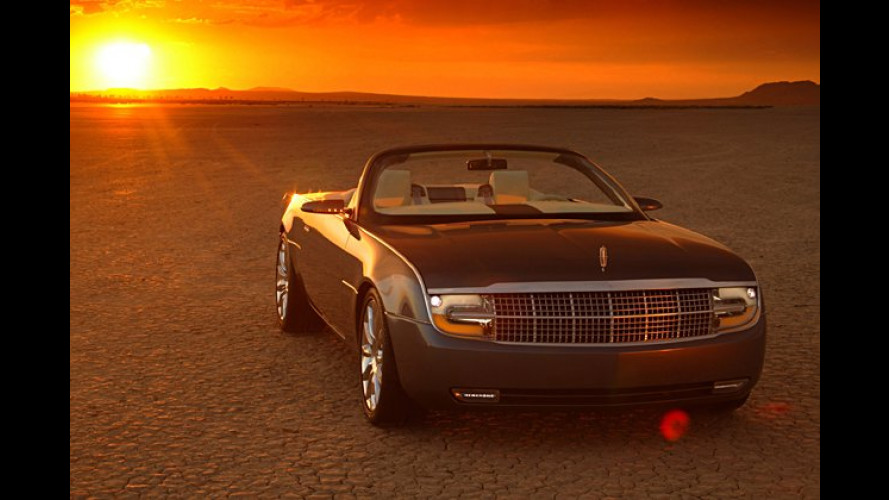 Lincoln Mark X: Ein Roadster-Coupé mit Glas-Metall-Dach