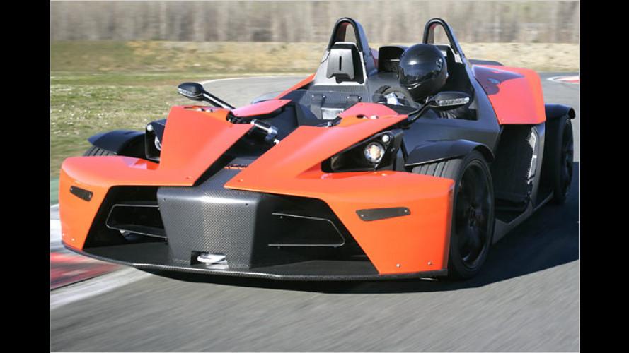 Motorrad-Feeling für Autofahrer: Der X-Bow geht an den Start