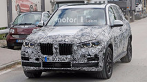 BMW X5 Headlight Spy Shots