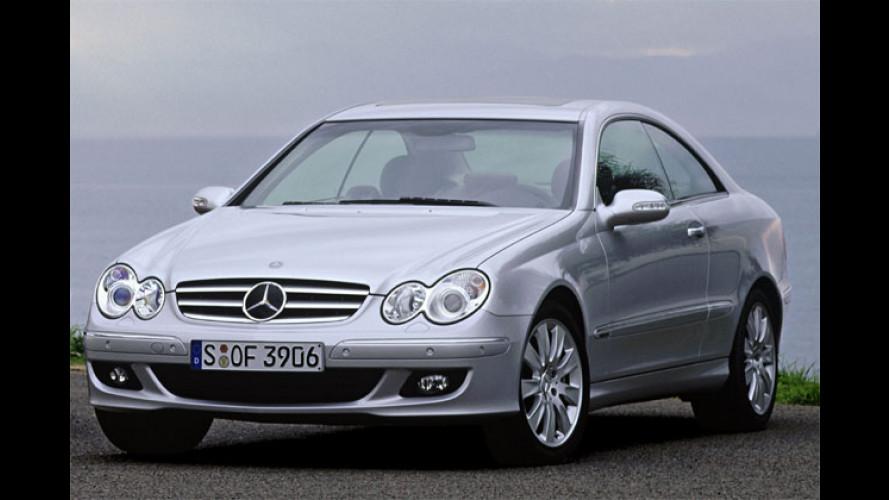 Mercedes CLK: Leichte Frühjahrskur für Coupé und Cabrio