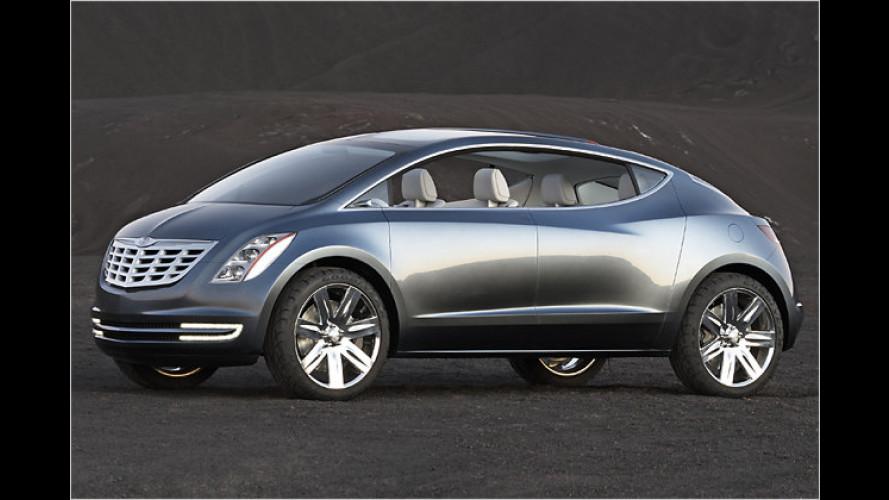 Chrysler blickt mit der Studie ecoVoyager in die nahe Zukunft