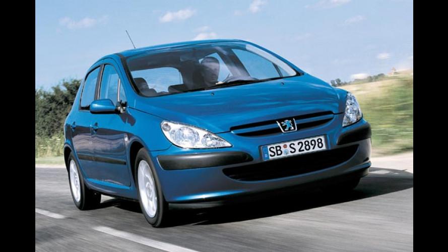 Peugeot 307 jetzt auch mit kleinem Euro-4-FAP-Diesel