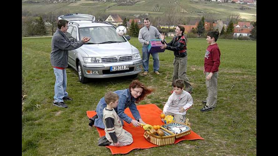 Kindergeld-Bonus beim Kauf eines Mitsubishi Space Wagon