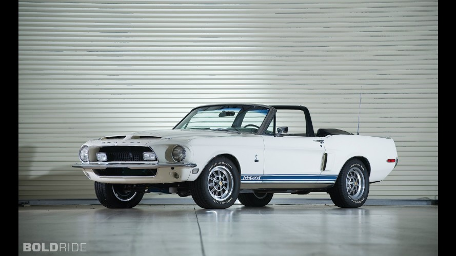 Ford Mustang Shelby GT500 Convertible