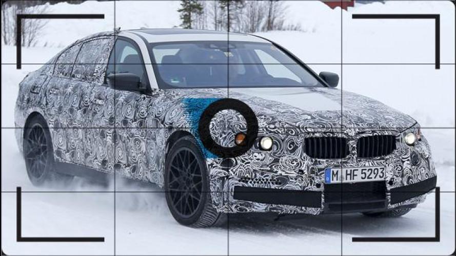 Nuova BMW M5, prove di leggerezza