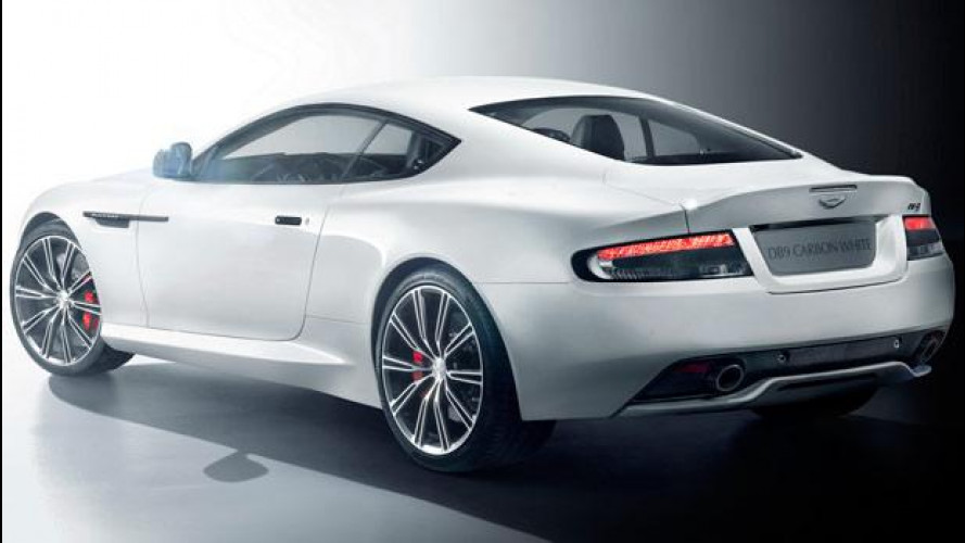 Aston Martin DB9 Carbon Black e Carbon White