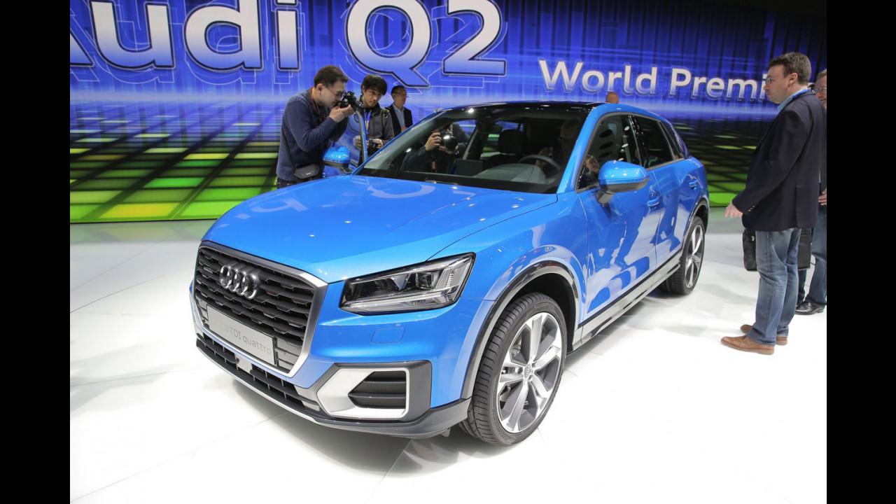 Audi al Salone di Ginevra 2016