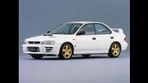 Subaru Impreza WRX STi, le foto storiche