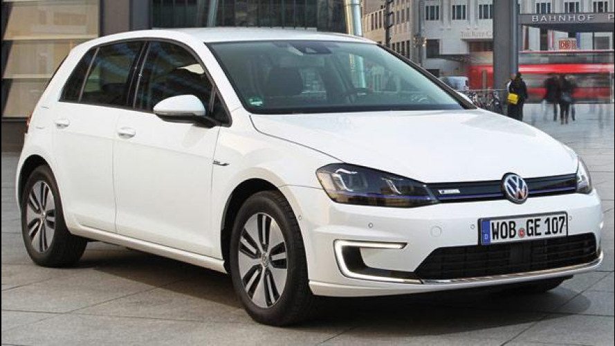 Volkswagen e-Golf, il prezzo dell'elettrica