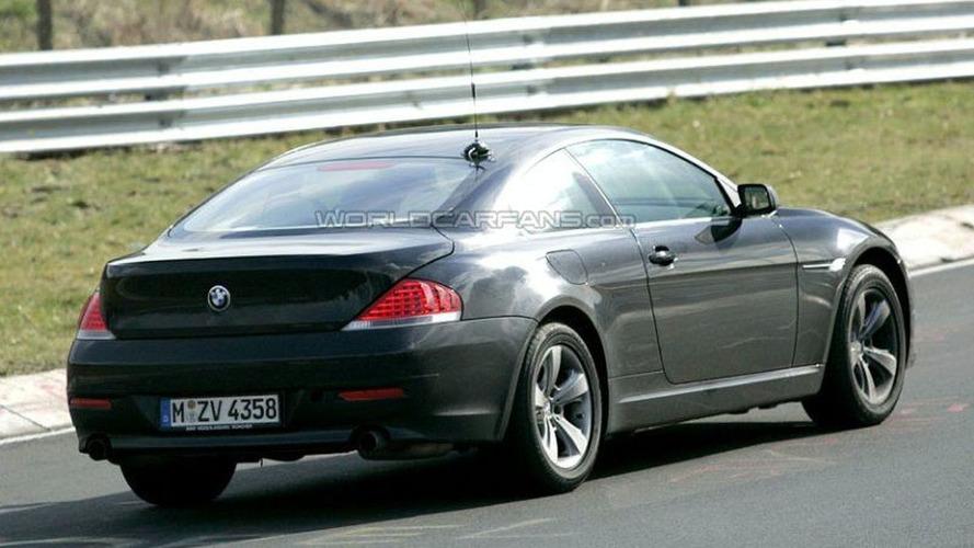 SPY PHOTOS: More BMW 6-series Facelift