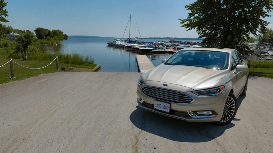 First Drive: 2017 Ford Fusion