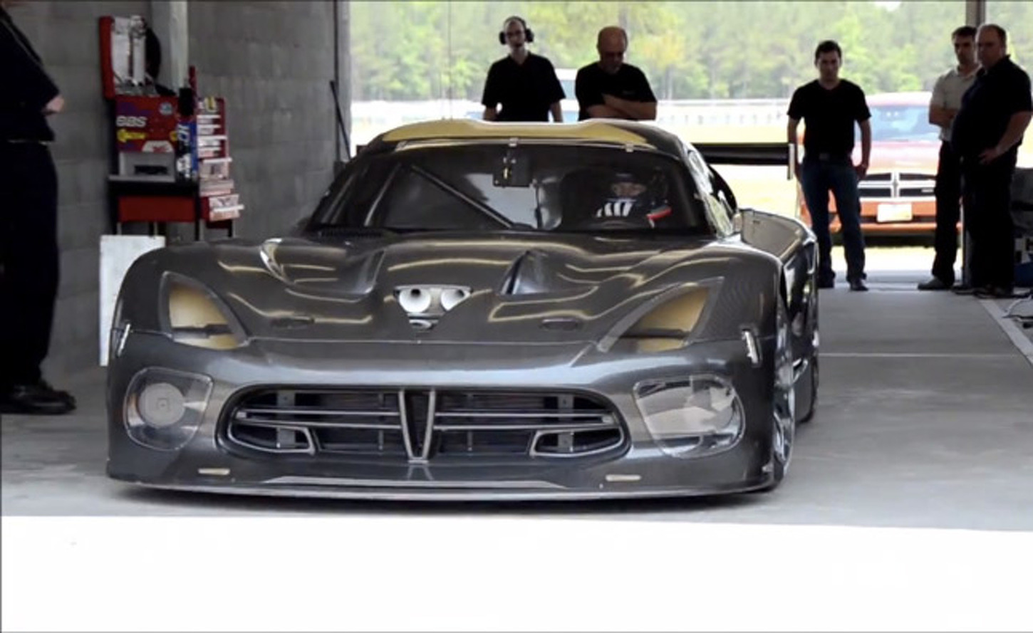 Race Ready Viper GTS-R Makes Track Debut