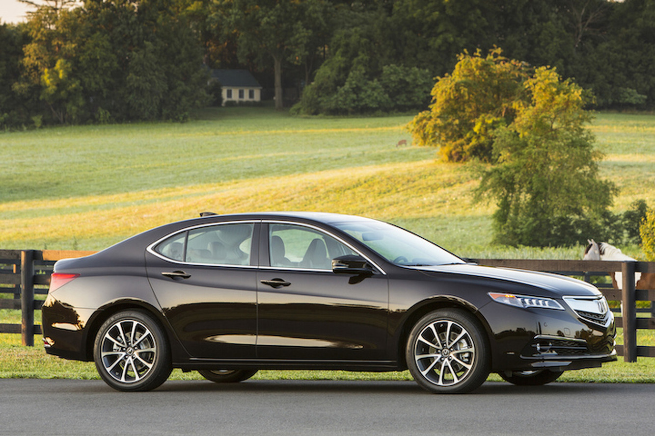 2015 acura tlx makes the middle of the pack slightly more engaging review. Black Bedroom Furniture Sets. Home Design Ideas