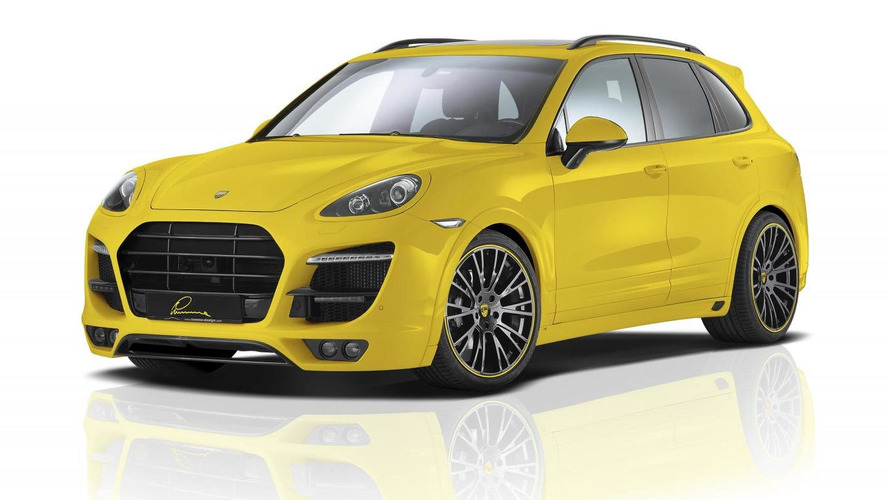Lumma revises its body kit for Porsche Cayenne II