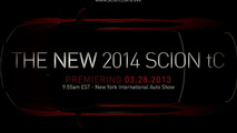 2014 Scion tC teaser image 21.3.2013