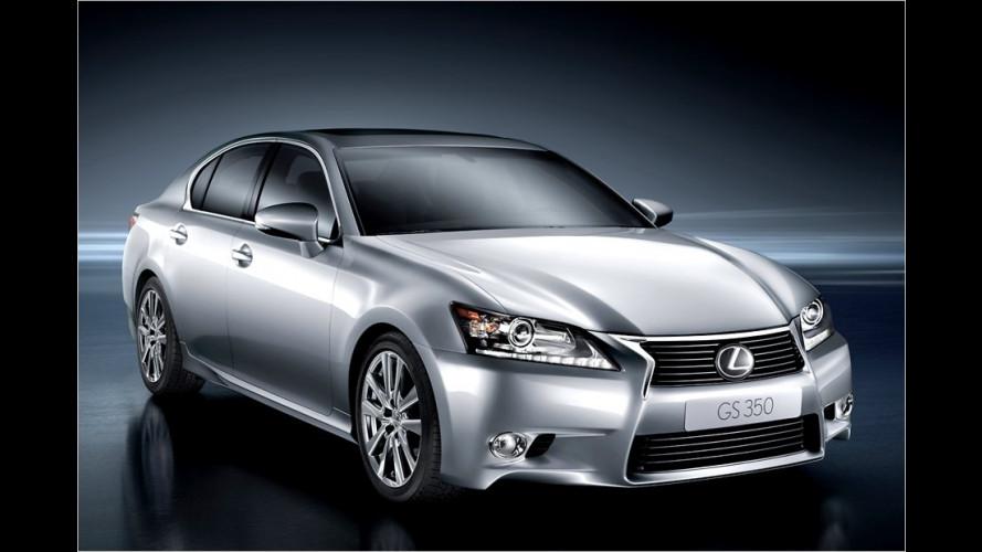 Lexus GS: So sieht der neue BMW-5er-Konkurrent aus