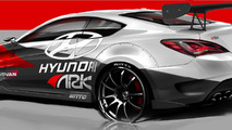Hyundai Genesis Coupe R-Spec Track Edition by ARK Performance 24.9.2012