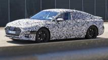 Audi A7 Sportback 2017 fotos espía