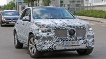 2019 Mercedes GLE casus fotoğraflar