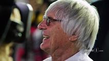 Bernie Ecclestone, on the grid (1)