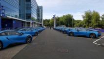 Leicester City oyuncularına hediye edilen BMW i8'ler